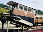 01 Luzern/127342/verkehrshaus-der-schweiz-luzerndmb-2-standseilbahnwagen-der-dmbdrahtseilbahn-marzili-bern21091981 Verkehrshaus der Schweiz-Luzern DMB-2 Standseilbahnwagen der DMB=Drahtseilbahn-Marzili-Bern  21.09.1981