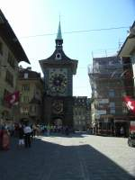 08-25 Strasbourg-Bern/13562/bern-kramgasse-zytgloggeturm Bern Kramgasse Zytgloggeturm