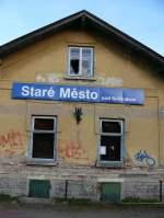 02 Mahrisch-schlesisches Bergland/171819/stare-mesto-pod-sneznikem-maehrisch-altstadt Stare Mesto pod Sneznikem (Mährisch Altstadt) Bahnhof.  2011-11-18