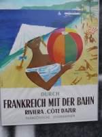 Werbung/39603/historische-werbung-fuer-die-franzoesische-bahnmit Historische Werbung für die französische Bahn. Mit der etwas exotisch wirkenden Schönheit auf diesem Plakat warb die SNCF 1958 in Deutschland für Zugreisen in den Süden.